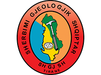 Sherbimi Gjeologjik Shqiptar - logo